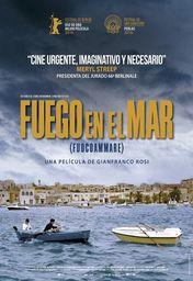 Cartel oficial en español de: Fuego en el mar