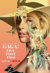 Cartel oficial en español de: Gaga: Five Foot Two