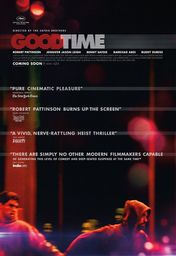 Cartel oficial en español de: Good Time