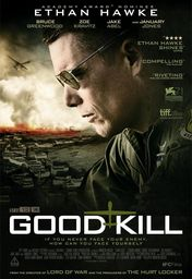 Cartel oficial en español de: Good Kill
