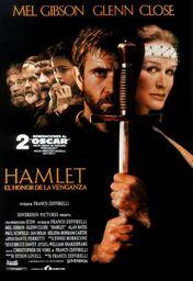 Cartel oficial en español de: Hamlet, el honor de la venganza