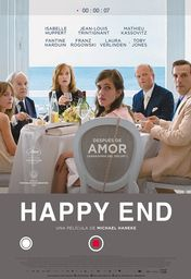 Cartel oficial en español de: Happy End