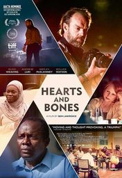 Cartel oficial en español de: Hearts and Bones