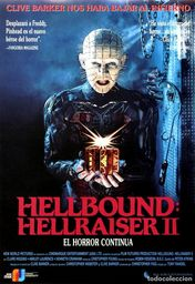 Cartel oficial en español de: Hellbound: Hellraiser II