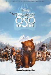 Cartel oficial en español de: Hermano oso