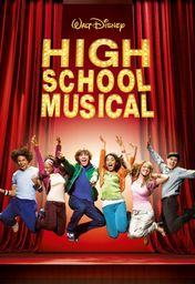 Cartel oficial en español de: High School Musical