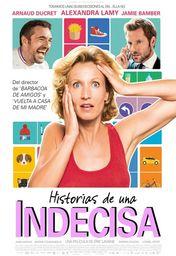 Cartel oficial en español de: Historias de una indecisa
