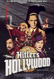 Cartel oficial en español de: Hitler's Hollywood