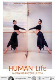 Cartel oficial en español de: Human Life
