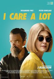 Cartel oficial en español de: I Care a Lot