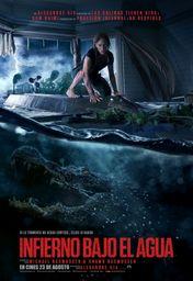 Cartel oficial en español de: Infierno bajo el agua