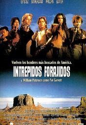 Cartel oficial en español de: Intrépidos forajidos