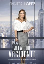 Cartel oficial en español de: Jefa por accidente