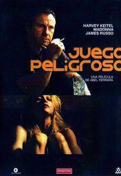 Cartel oficial en español de: Juego peligroso (1993)