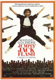 Cartel oficial en español de: Jumpin' Jack Flash