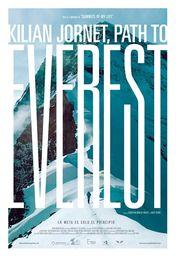 Cartel oficial en español de: Kilian Jornet, camino al Everest