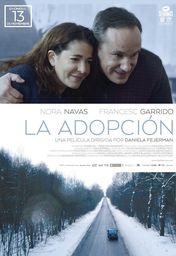 Cartel oficial en español de: La adopción