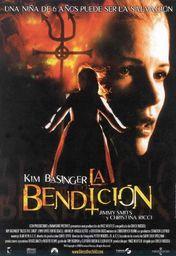 Cartel oficial en español de: La bendición