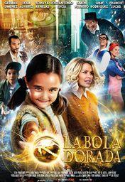 Cartel oficial en español de: La bola dorada