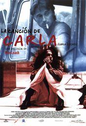 Cartel oficial en español de: La canción de Carla