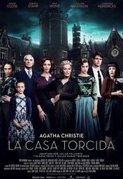 Cartel oficial en español de: La casa torcida