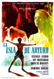 Cartel oficial en español de: La isla de Arturo