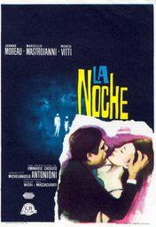 Cartel oficial en español de: La noche