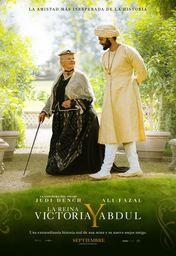 Cartel oficial en español de: La Reina Victoria y Abdul