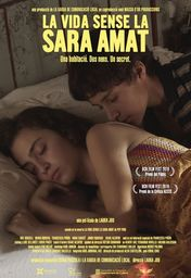Cartel oficial en español de: La vida sin Sara Amat