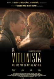 Cartel oficial en español de: La violinista