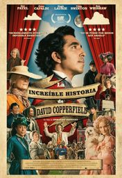 Cartel oficial en español de: La increíble historia de David Copperfield