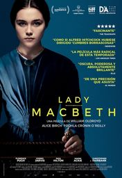 Cartel oficial en español de: Lady Macbeth