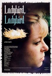 Cartel oficial en español de: Ladybird, Ladybird