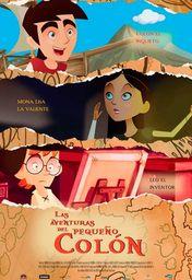 Cartel oficial en español de: Las aventuras del pequeño Colón