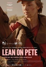 Cartel oficial en español de: Lean on Pete