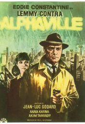 Cartel oficial en español de: Lemmy contra Alphaville