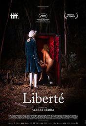 Cartel oficial en español de: Liberté