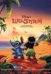 Cartel oficial en español de: Lilo & Stitch