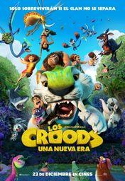 Cartel oficial en español de: Los Croods: Una nueva era