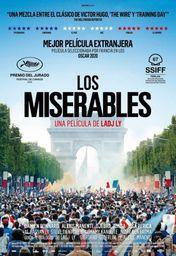 Cartel oficial en español de: Los miserables