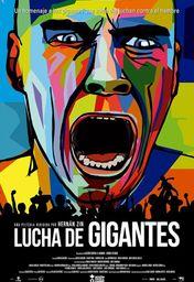 Cartel oficial en español de: Lucha de gigantes