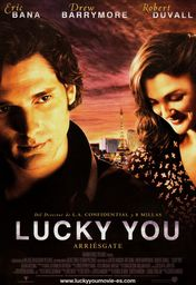 Cartel oficial en español de: Lucky You