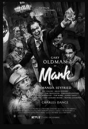 Cartel oficial en español de: Mank