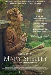 Cartel oficial en español de: Mary Shelley