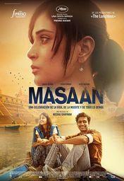 Cartel oficial en español de: Masaan