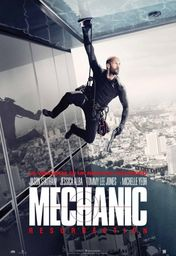 Cartel oficial en español de: Mechanic: Resurrection