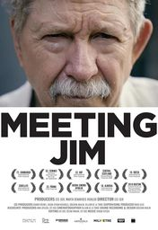 Cartel oficial en español de: Meeting Jim