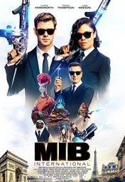 Cartel oficial en español de: Men in Black International