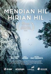 Cartel oficial en español de: Mendian Hil, Hirian Hil