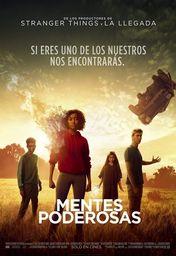 Cartel oficial en español de: Mentes poderosas